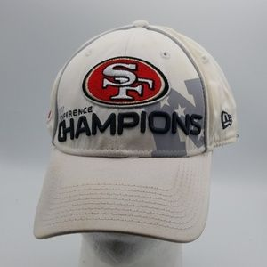 New Era 49ers 2012 Conference Champions hat M/L